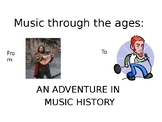 Music History for kids