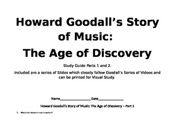 Music History part 1~  Sub plans, a word wall.  Video Study guide.