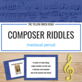 Music History with Medieval Composer Riddles