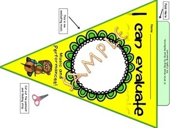 Music: I Can Pennants, Bulletin Boards, Banners, Decor, Open House, Art