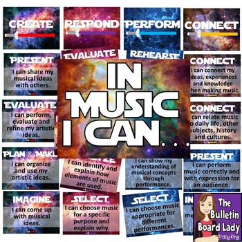 Music I Can Statements National Music Standards