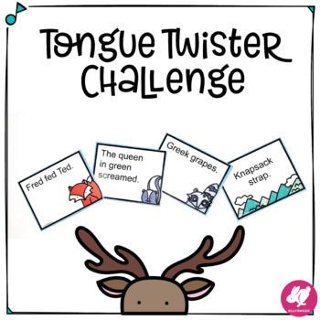 Music Back-to-School Icebreaker: Tongue Twister Challenge & EDITABLE PowerPoint