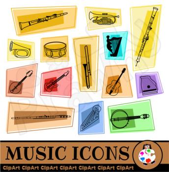 Music Icon Clip Art