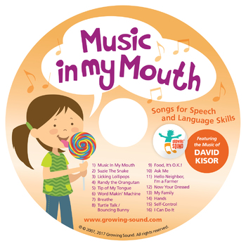 Music In My Mouth Music CD