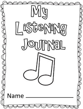 Music In Our Schools FREE Listening Journal