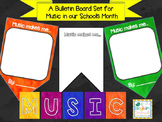 Music In Our Schools Month: Bulletin Board Pennant Banner