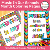 Music In Our Schools Month Coloring Pages