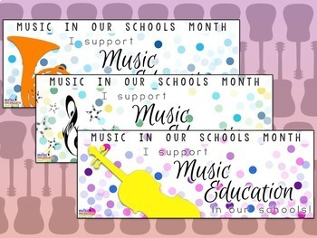 Music In Our Schools Month (MIOSM) Facebook Timeline Freebie!