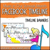 Facebook Timeline Banners for Music In Our Schools Month (