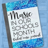 Music In Our Schools Month - Music Listening Journals