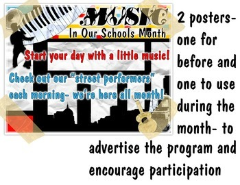 Music In Our Schools Month Performance Program Setup Kit