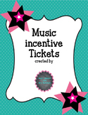 Music Incentive Tickets and Fill-ins