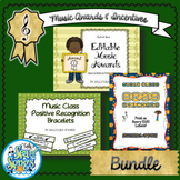 Music Incentives and Awards Bundle
