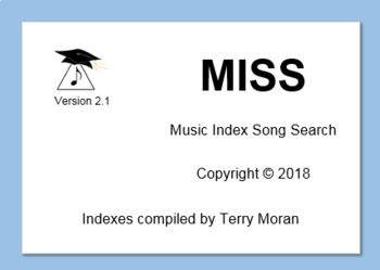 Music Index Song Search ..... Have you checked with MISS?