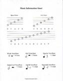 Music Information Sheet