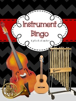 Instrument Bingo Game