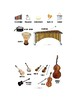 Music Instrument Families Lap book Template