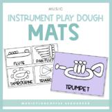Music Instrument Play Dough Mats | Printable Activity