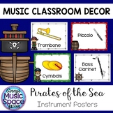Music Instrument Posters Pirate Theme