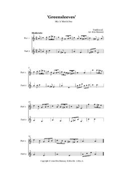 Music: Instrumental Ensembles - SIX Mix n Match arrangements.