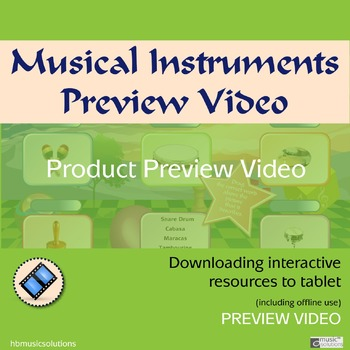 Musical Instruments Interactive Games Product Preview Video