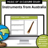 Music Instruments from Around the World | Australia