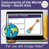 Music Instruments from Around the World | South Asia