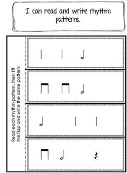 Music Interactive Notebook {Third Grade}