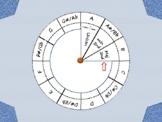 Music Interval Wheel