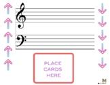 Music Intervals Sensory Play Dough Mats (2nds, 3rds, 4ths,