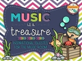 Music Is A Treasure - Quotes For the Music Room