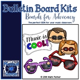 Music Is COOL! Bulletin Board Kit