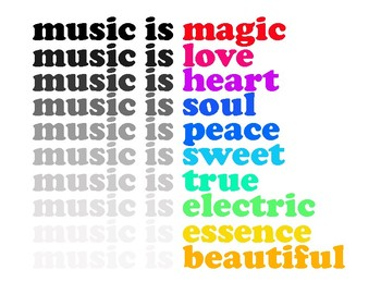 Music Is Magic Free Poster