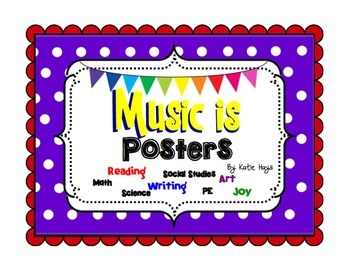 Music Is...Music Advocacy Posters