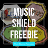 Music Is My Superpower Shield FREEBIE