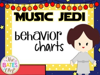 Music Jedi Room Decor Behavior Chart