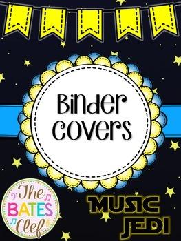Music Jedi Binder Covers *Star Wars Theme*