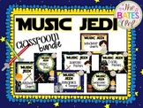Music Jedi Classroom Decor Bundle