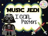 Music Jedi I Can Statements Room Decor