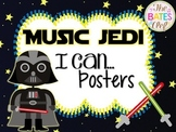 Music Jedi I Can Statements Room Decor