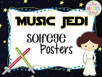 Music Jedi Solfege Hand Signs Posters