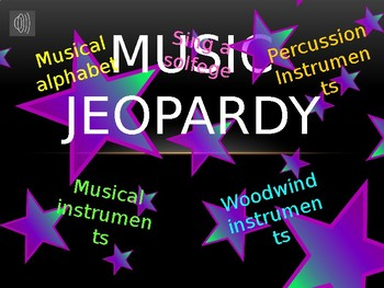 Music Jeopardy 2
