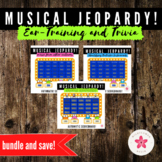 Music Jeopardy Bundle with Audio Examples - Orchestra and