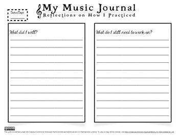 VIOLIN STUDIO: Music Journal