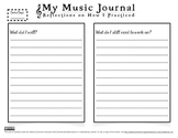 VIOLIN STUDIO: Music Journal