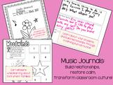 Music Journals: Turn around negative behavior patterns and