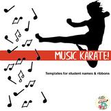 Music Karate Templates
