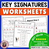 Music Theory Key Signatures