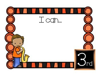 "Music Kids ""I Can"" Statement Posters"