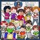 Music Kids-Percussion Clip Art BUNDLE SET